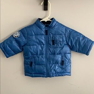Navy Blue Baby Gap Puffer Coat Jacket